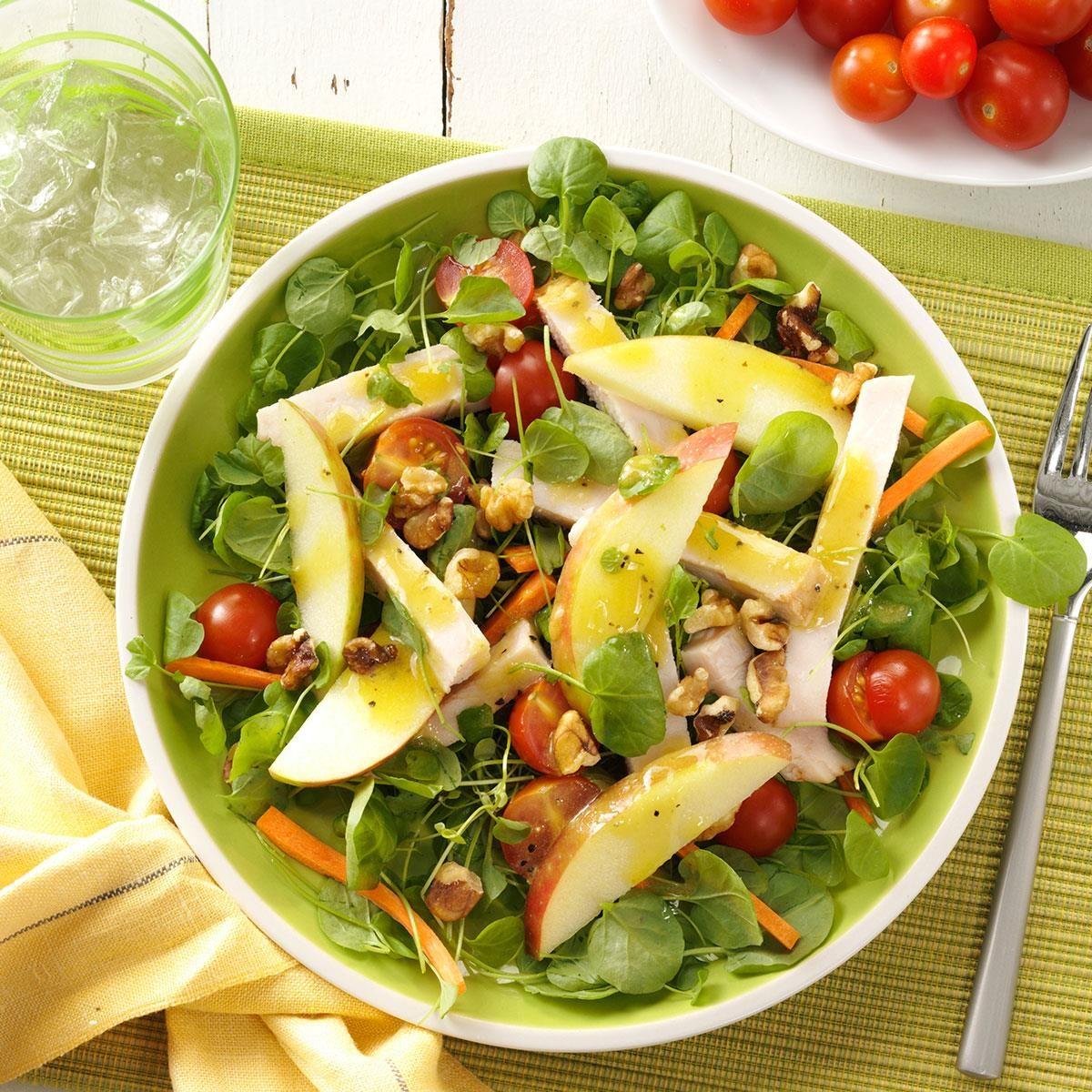 Smoked Turkey And Apple Salad Recipe