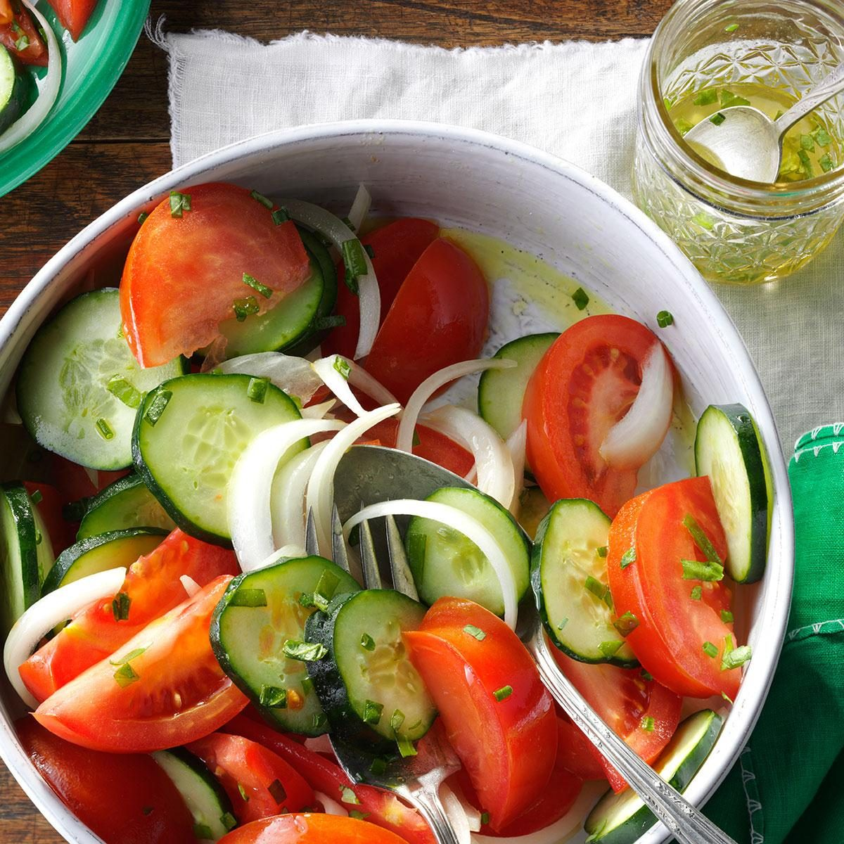 Garden Tomato Salad Recipe