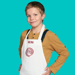 MASTERCHEF: JUNIOR EDITION: Beni Age: 9 Hometown: Chicago, IL Signature Dish: Garlic-Lime Chicken with Mixed Barley with Cilantro-Lime Dressing CR: Michael Becker / FOX. © 2018 / FOX Broadcasting.