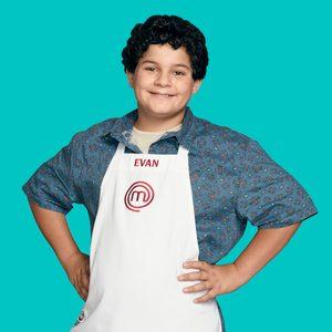 MASTERCHEF: JUNIOR EDITION: Evan Age: 11 Hometown: San Diego, CA Signature Dish: Baked Lemon-Cumin Chicken Breast with Balsamic Glaze CR: Michael Becker / FOX. © 2018 / FOX Broadcasting.