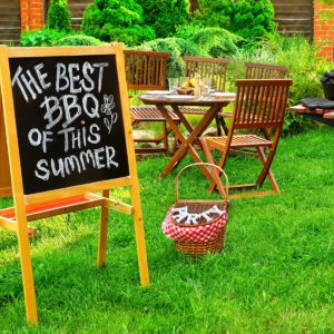 An Invitation To A Summer Barbecue Grill Party