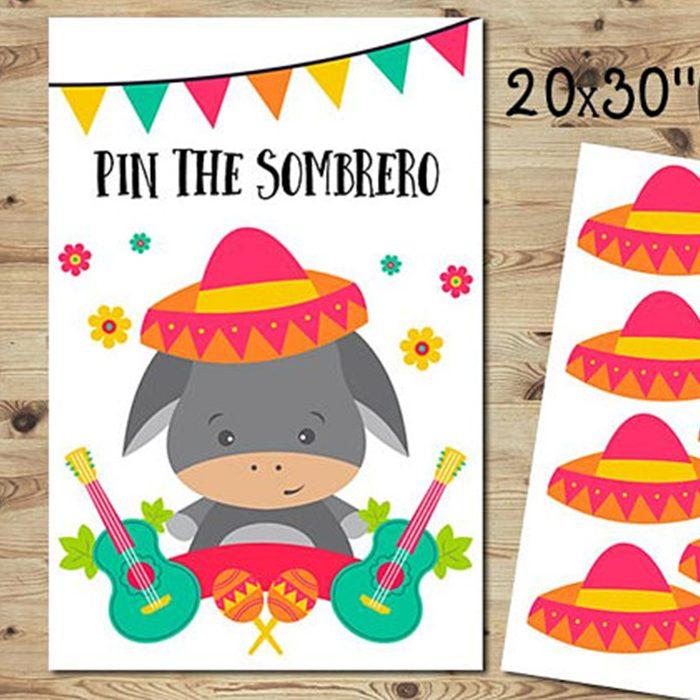 pin the sombrero game