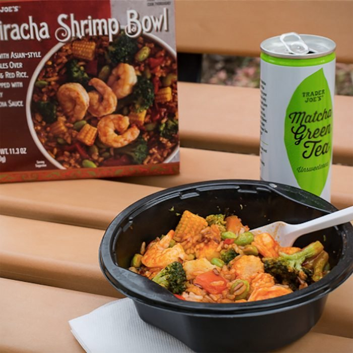 Trader Joe's frozen shrimp bowl/