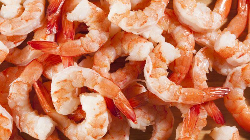 Fresh Organic Shrimp Cocktail with red sauce; Shutterstock ID 123862162; Job (TFH, TOH, RD, BNB, CWM, CM): Taste of Home