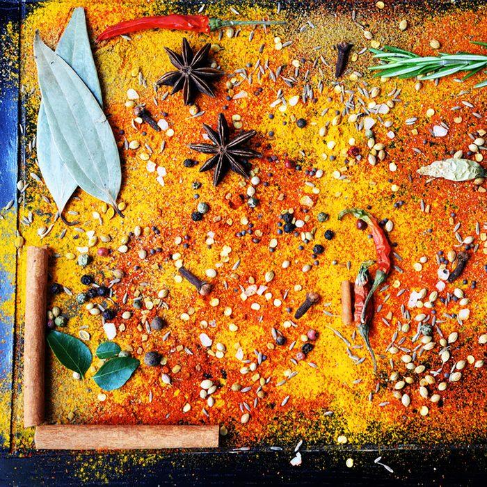 Exotically Spice Mix - spice, herbs, powder.