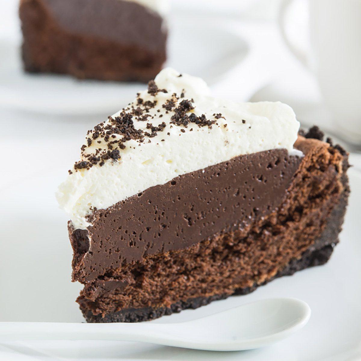 Mississippi mud pie (chocolate cake)