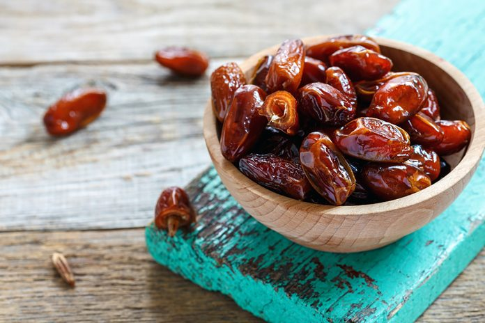 Bowl of healthy dates