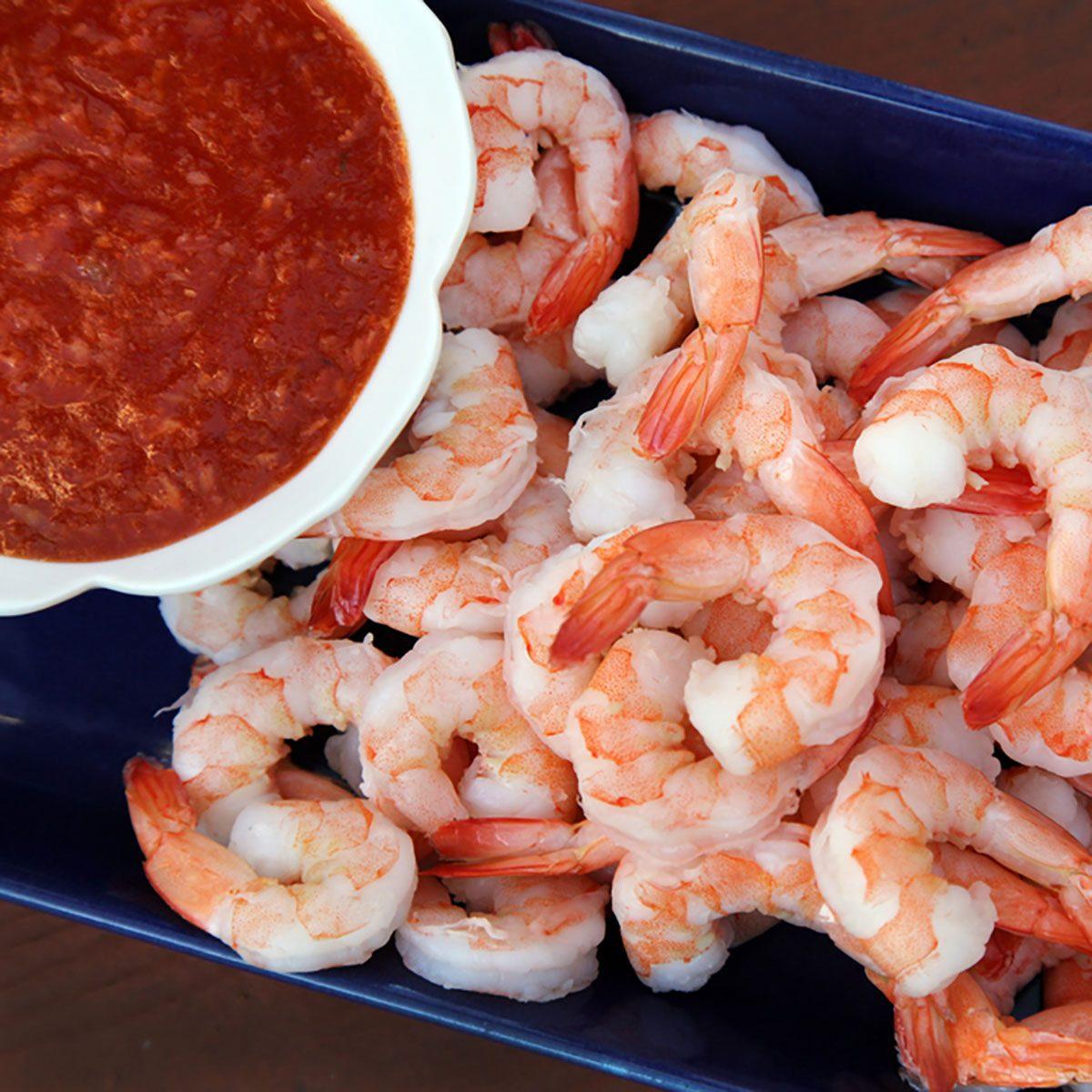 Classic shrimp cocktai