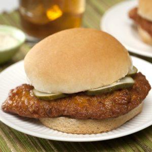 Hot Chicken Fillet Sandwich