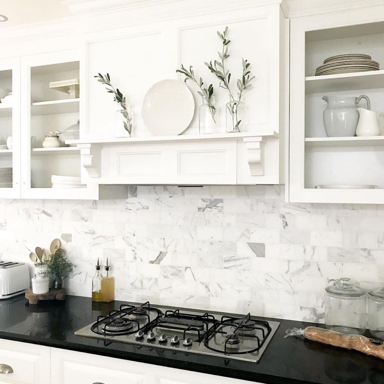 8 DIY Peel-and-Stick Kitchen Backsplash Ideas