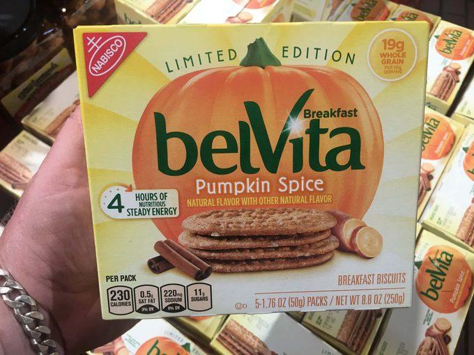 Belvita package