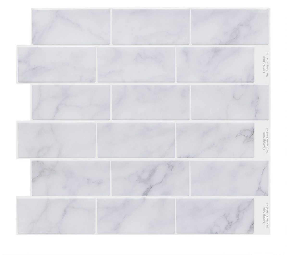 Vamos Tile Premium L And Stick Backsplash 6 Sheets