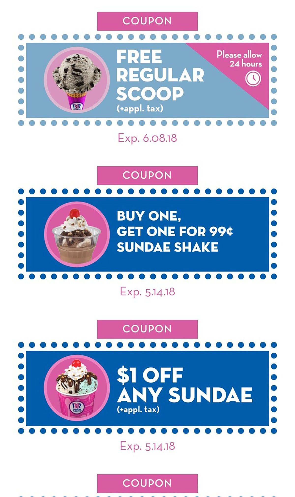 How to Get Free Ice Cream from Baskin-Robbins with Just a Swipe