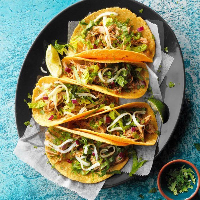 Baja Pork Tacos Recipe | Taste of Home