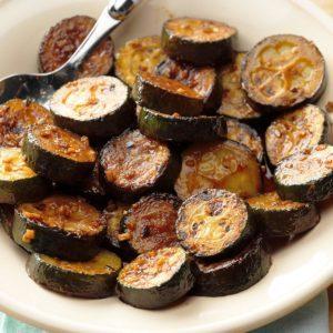 Balsamic-Glazed Zucchini
