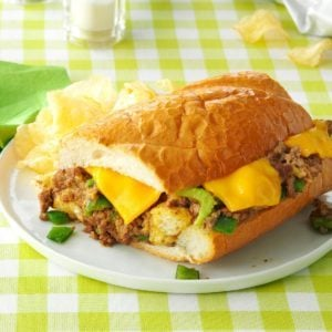 Beef-Stuffed French Bread