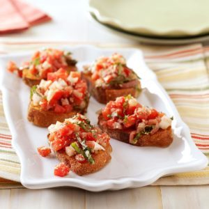 Bruschetta with Prosciutto