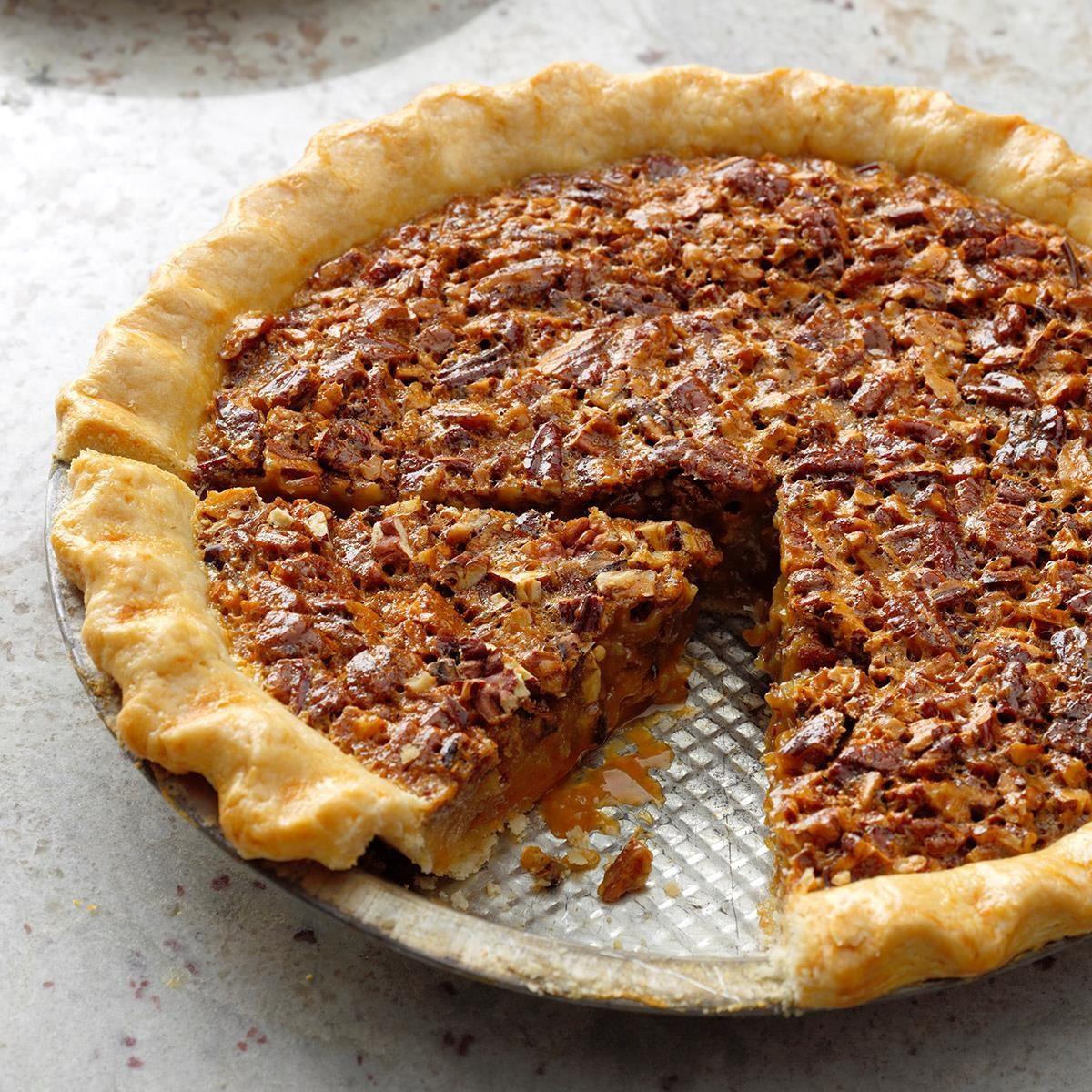 Thanksgiving Desserts Pecan Pie Pumpkin Pie More: Caramel Pecan Pie Recipe