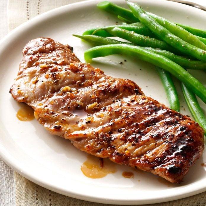 Caramelized Pork Tenderloin