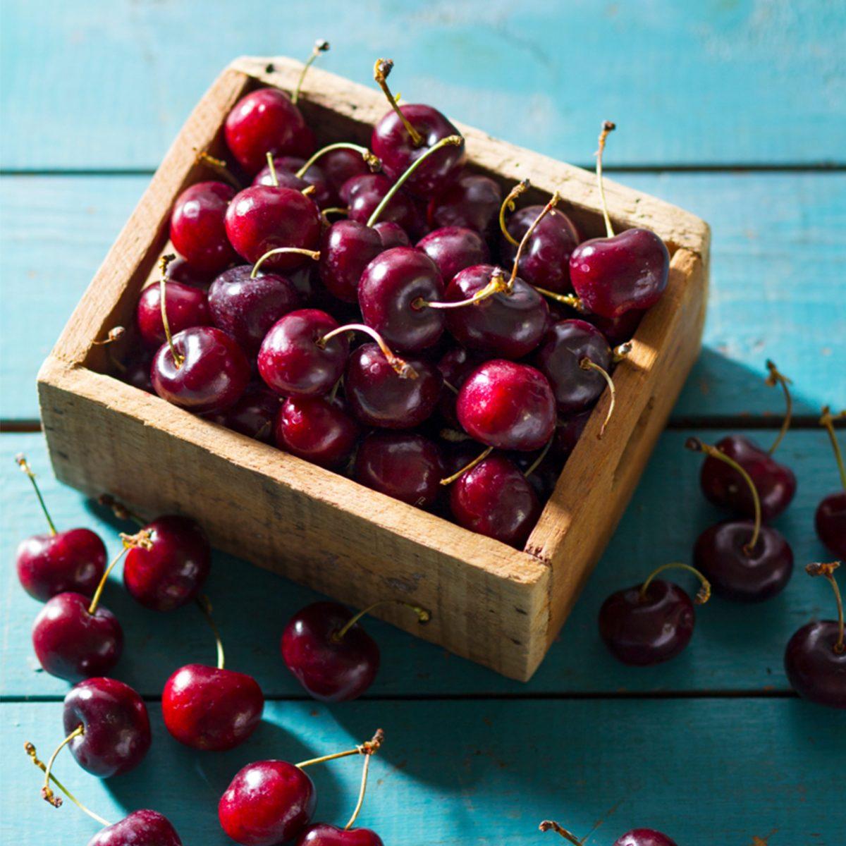 Cherries in Basket via Taste of Home