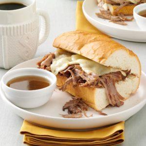 Coffee-Braised Pulled Pork Sandwiches