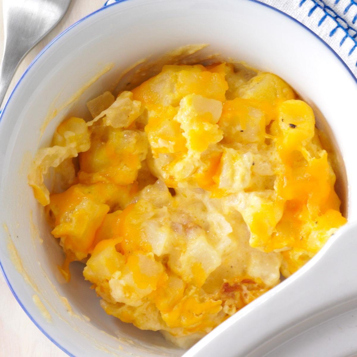 Cheesy Potato Bake Recipe: Comforting Cheesy Potatoes Recipe