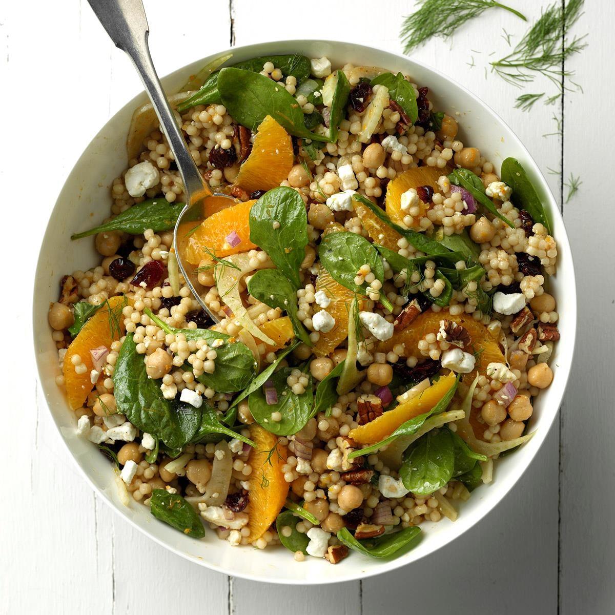 New York: Cran-Orange Couscous Salad