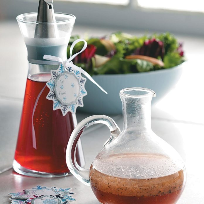 Cranberry Orange Vinegar
