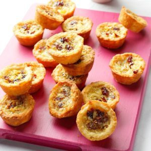 Cranberry-Pear Cookie Cups