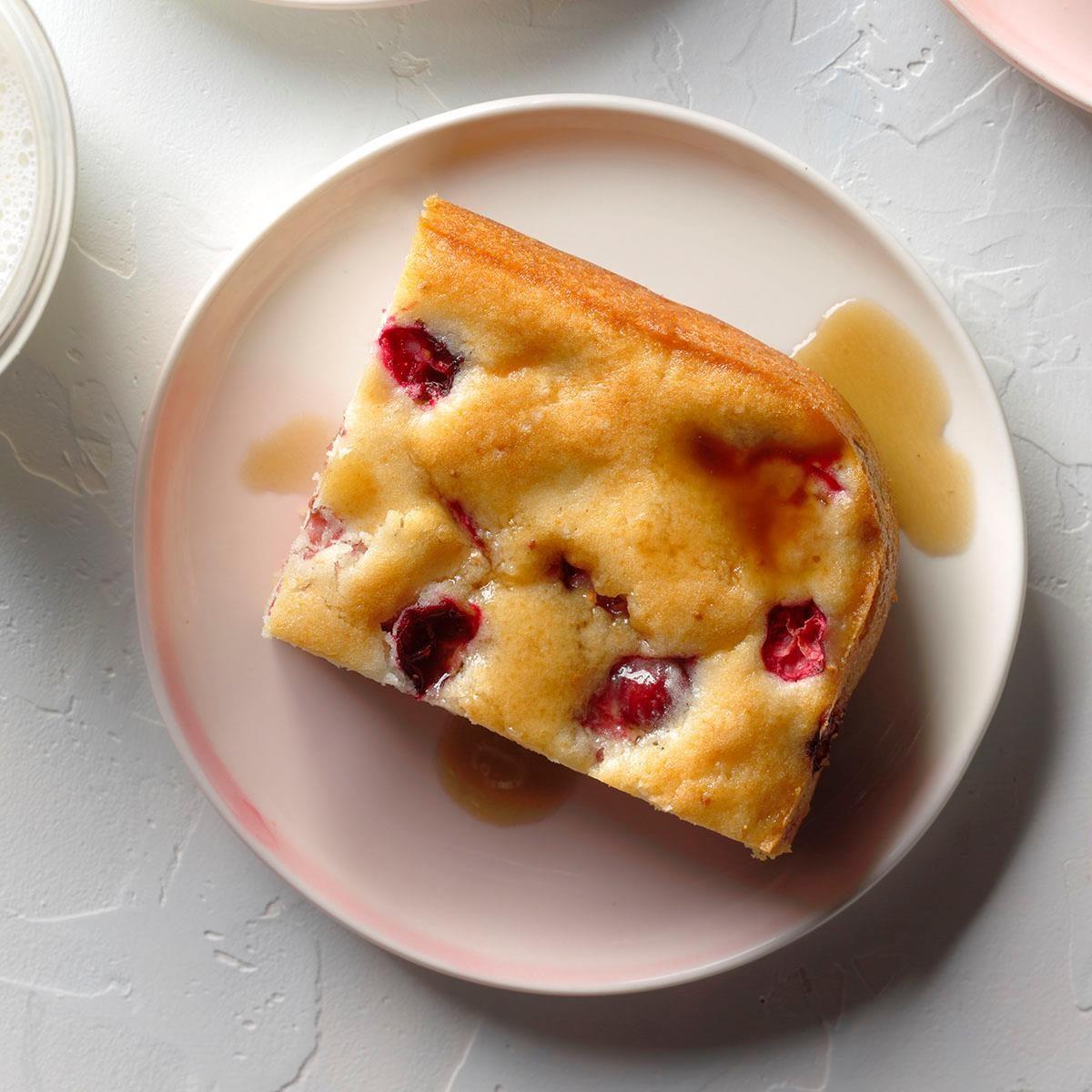 Cranberry Pudding Recipe | Taste of Home