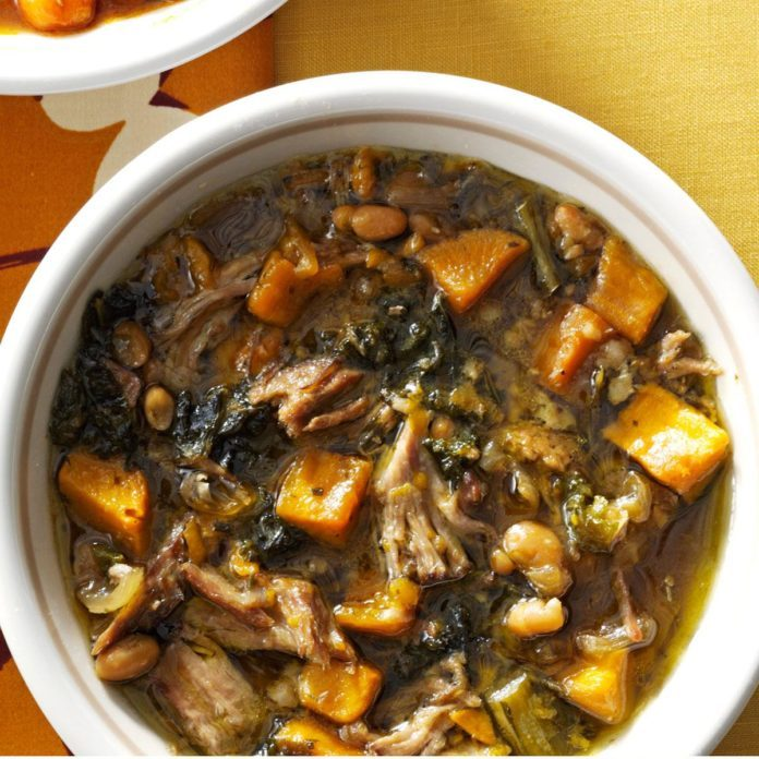 Italian Shredded Pork Stew
