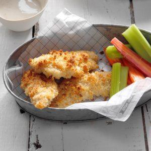 Air-Fryer Everything Bagel Chicken Strips
