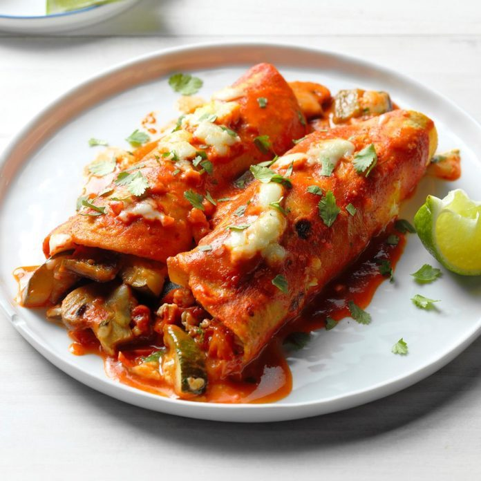 Day 4: Farmers Market Enchiladas
