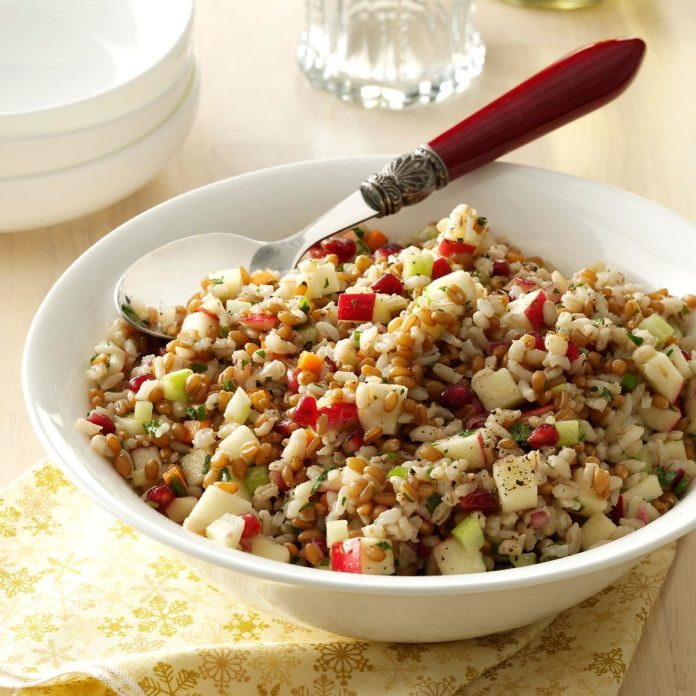 Festive Three-Grain Salad