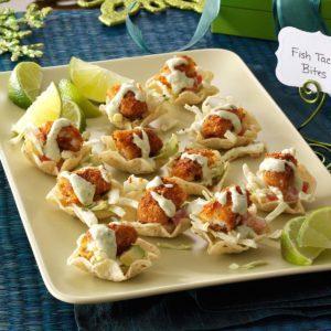 Fish Taco Bites