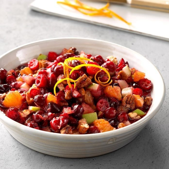 Fresh Cranberry Relish