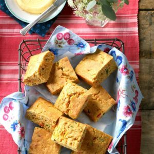 Garden Vegetable Corn Bread