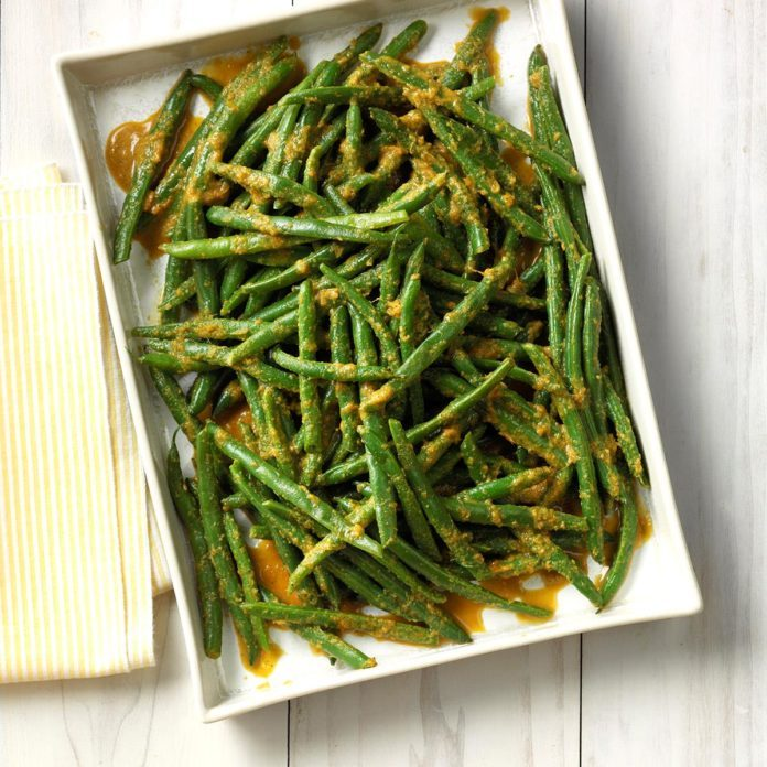 Ginger Green Beans