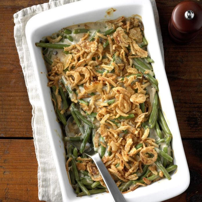 This Green Bean Casserole Recipe Will MAKE Your Thanksgiving