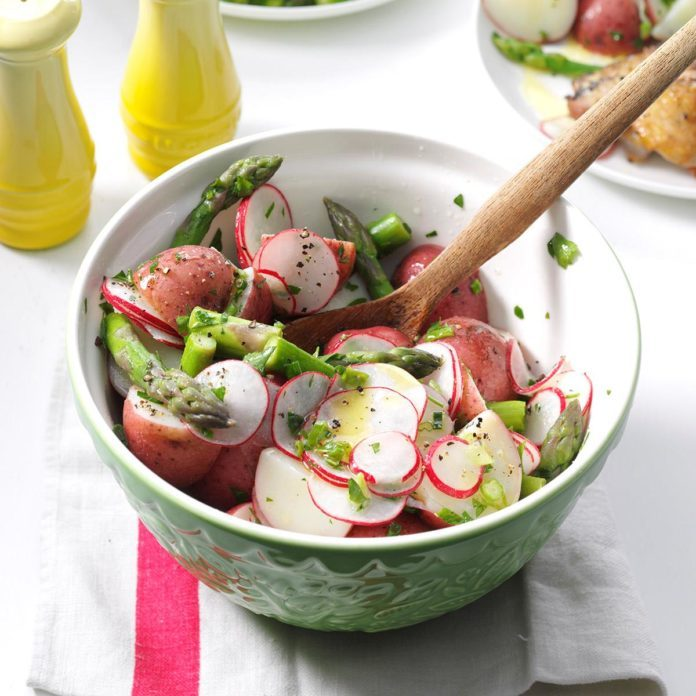 Herb-Vinaigrette Potato Salad