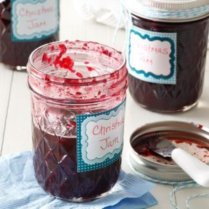 Homemade Christmas Jam