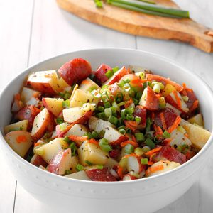 Honey Mustard Red Potato Salad