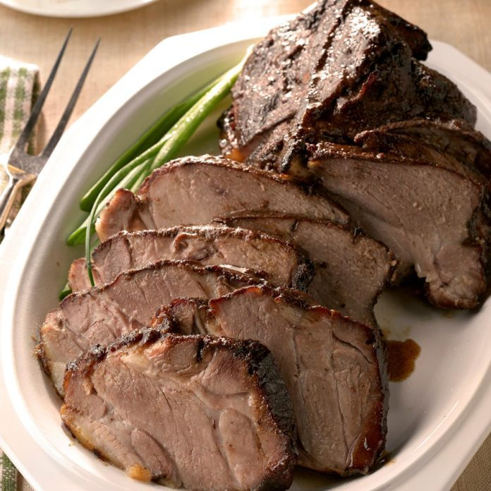 Honey-Soy Glazed Pork Roast