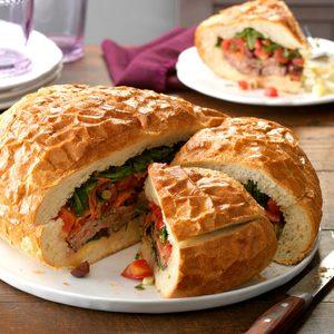 Italian Grilled Steak Sandwich