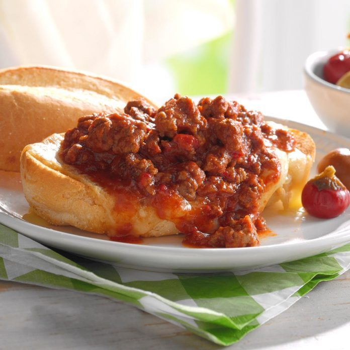 Italian Sausage Sloppy Joes