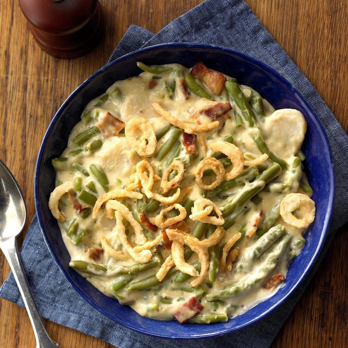 Jazzed-Up Green Bean Casserole Recipe