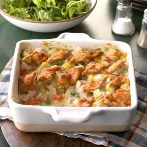 Pastry-Topped Turkey Casserole