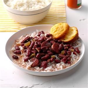 Pressure Cooker Lora's Red Beans & Rice