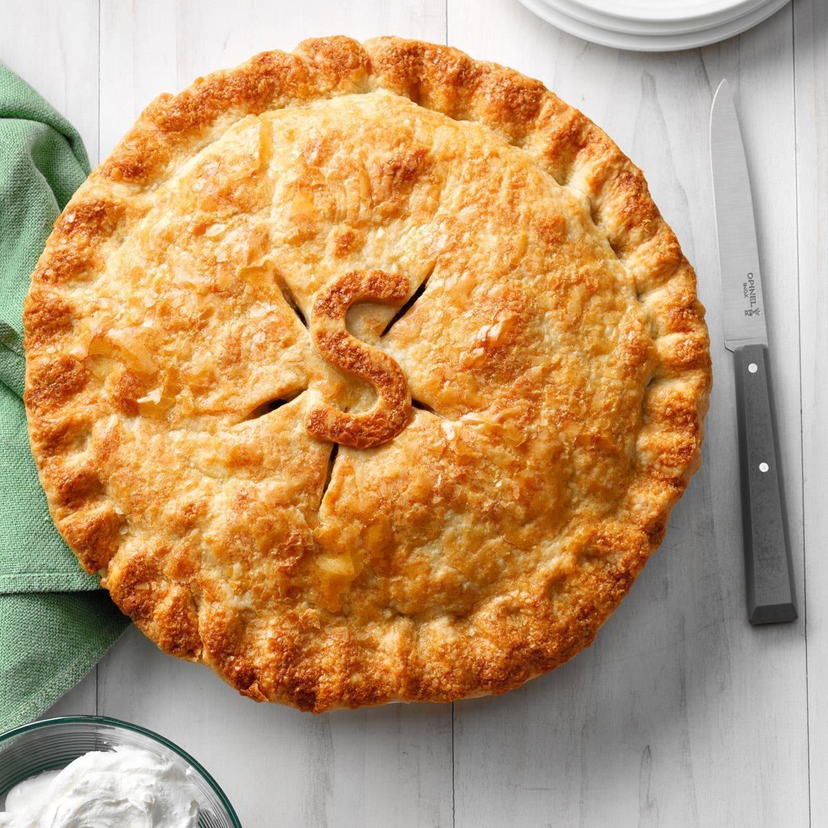 Maple-Glazed Apple Pie Recipe
