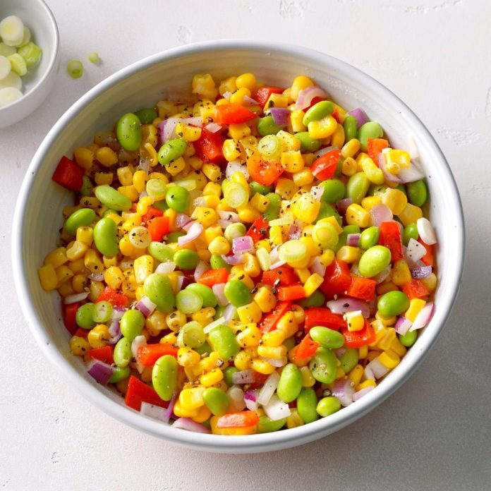 Miso-Buttered Succotash